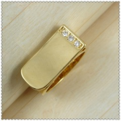 18k gold plated ring 1320013