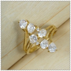 18k gold plated ring 1320029