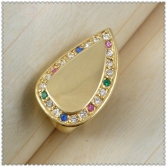 18k gold plated ring 1320080