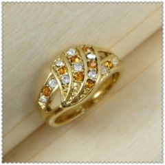 18k gold plated ring 1320130