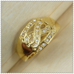 18k gold plated ring 1320139
