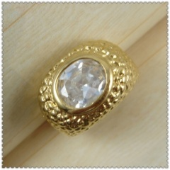 18k gold plated ring 1320185