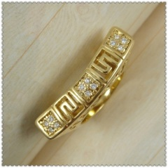 18k gold plated ring 1320192