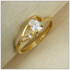18k gold plated ring 1320209