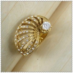 18k gold plated ring 1320541