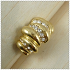 18k gold plated ring 1320615