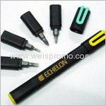 Promotion mini tool kit with a pen clip