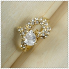 18k gold plated ring 1320640