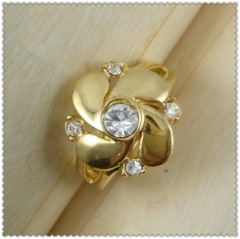 18k gold plated ring 1320742