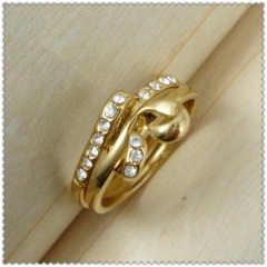 18k gold plated ring 1320794