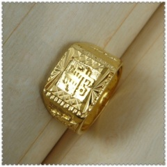 18k gold plated ring 3310001