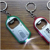LED light with bottle opener keychain