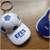Promotion Football shape bottle opener with keychain