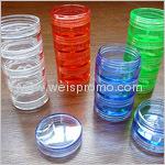 colorful plastic case set