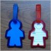 body shape Luggage tag