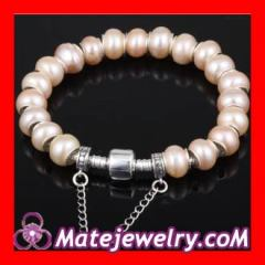 freshwater pearl silver bracelet