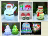 Christmas decoration gifts -Santa claus,snowman and xmas tree