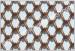 Metal mesh coil drapery curain