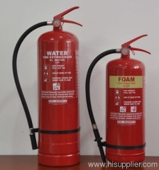 water foam fire extinguisher