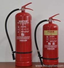water foam fire extinguisher