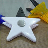 ABS stars Plastic Memo Clip