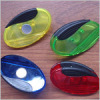 Oval shape magnetic clip