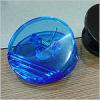 Round magnetic memo clip