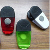 Oval shape magnetic memo clip