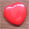 Heart shape cosmetic mirror