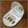 Promotion plastic sewing kit with mirror