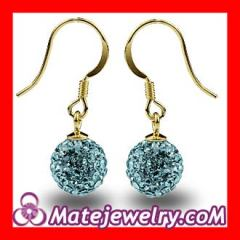 Czech Crystal hook earrings