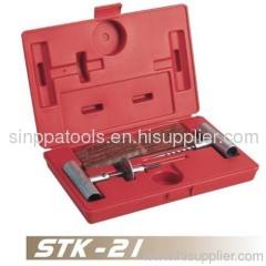 34pcs Tire Repair Tools Kit
