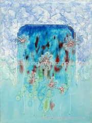 Abstract Minimalist oil painting