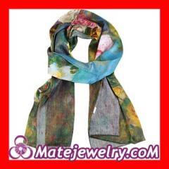 flower Silk Scarves Wholesale