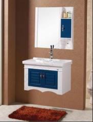 Wooden bathroom pvc cabinet