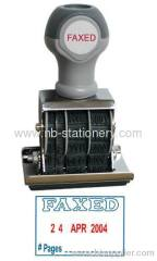 4mm Dater Rubber Stamp With Plate