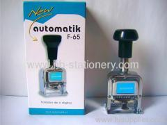 6 digits Automatic Numbering Machine