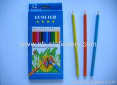 "12 colors 7"" Wooden Color Pencil"