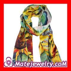 designer long silk scarf Wholesale