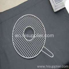 Outdoor cooking net barbecue grill netting