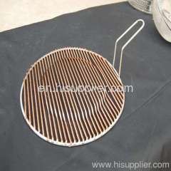 Outdoor cooking netting