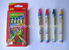 6 colors Wax Crayon
