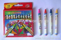 12 Colors Wax Crayon
