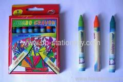 8 Colors Jumbo Size Wax Crayon