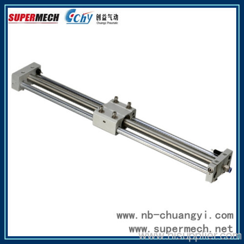 Magnetically Coupled Glide Bearing Rodless Cylinder