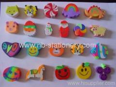 3D Shaped Eraser Topper