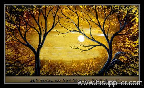 Abstract landscape oil painting manufacturer from china for Artworks landscape ltd