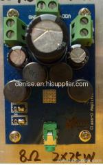 digital 25W stereo amplifier module high performance