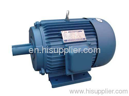 double speed electric motor