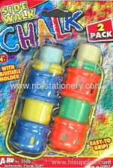 2pk Sidewalk Chalk with holder